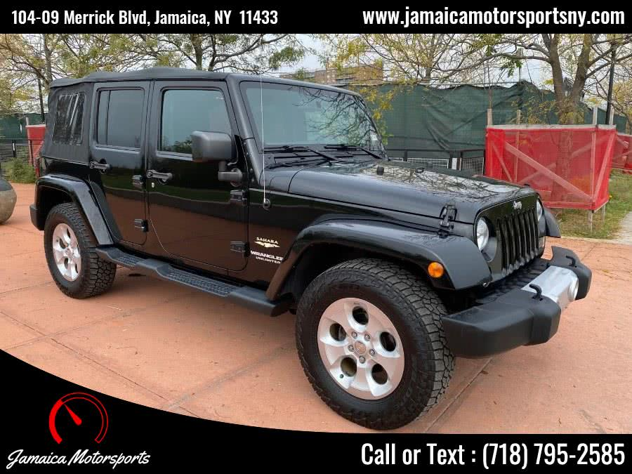 Used 2015 Jeep Wrangler Unlimited in Jamaica, New York | Jamaica Motor Sports . Jamaica, New York