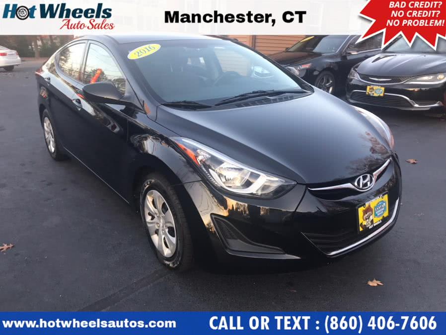 Used 2016 Hyundai Elantra in Manchester, Connecticut | Hot Wheels Auto Sales LLC. Manchester, Connecticut