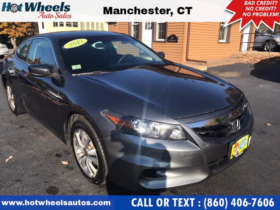 Used 2012 Honda Accord Cpe in Manchester, Connecticut | Hot Wheels Auto Sales LLC. Manchester, Connecticut