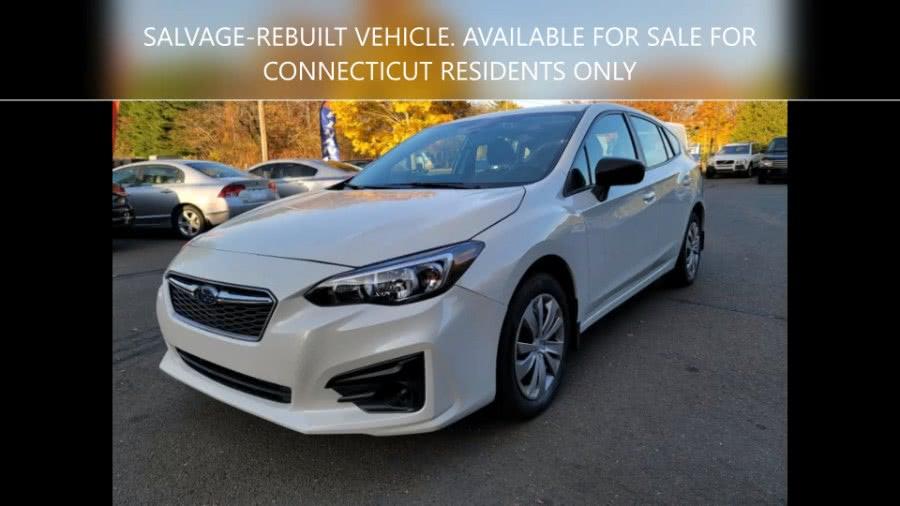 Used Subaru Impreza 2.0i 5-door CVT 2019 | Dealmax Motors LLC. Bristol, Connecticut