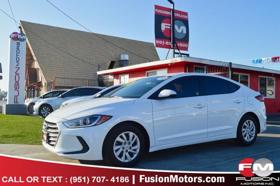 Used 2018 Hyundai Elantra in Moreno Valley, California | Fusion Motors Inc. Moreno Valley, California