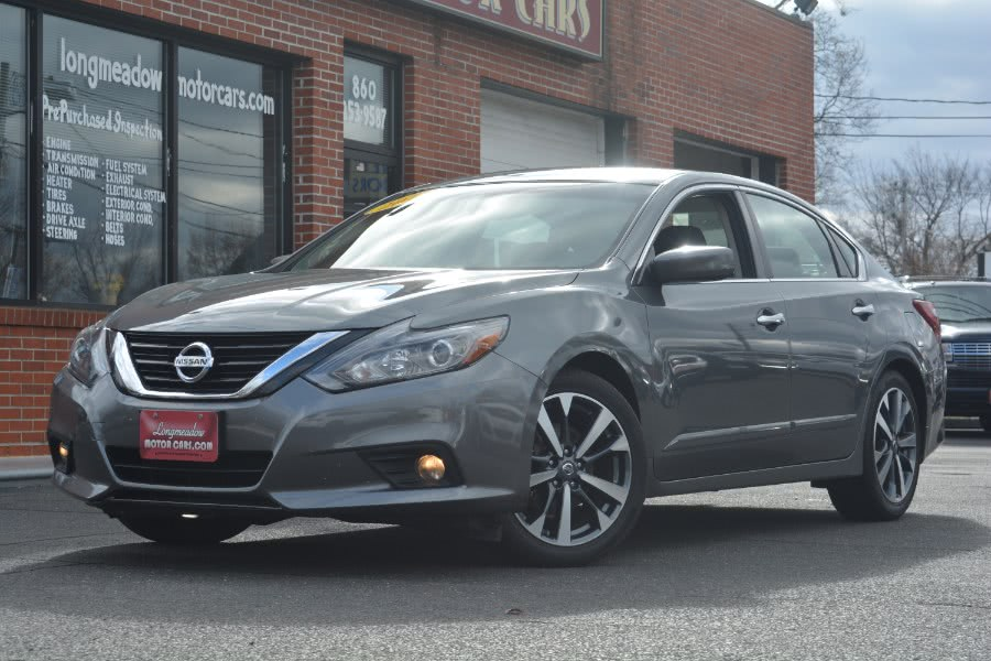 Used 2017 Nissan Altima in ENFIELD, Connecticut | Longmeadow Motor Cars. ENFIELD, Connecticut