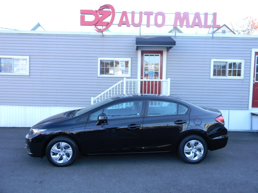 Used Honda Civic Sdn 4dr Auto LX 2013 | DZ Automall. Paterson, New Jersey