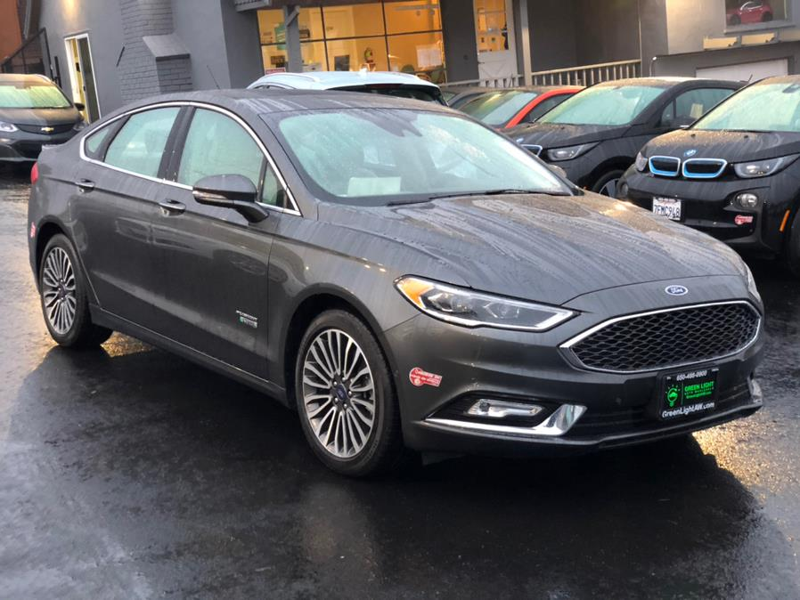 Used Ford Fusion Energi Platinum 2017 | Green Light Auto Wholesale. Daly City, California