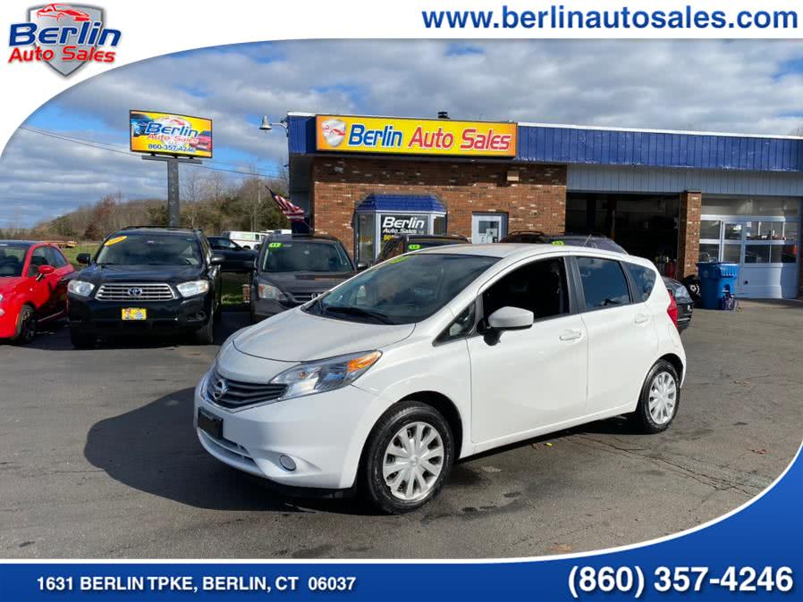 Used Nissan Versa Note 5dr HB CVT 1.6 SV 2015 | Berlin Auto Sales LLC. Berlin, Connecticut