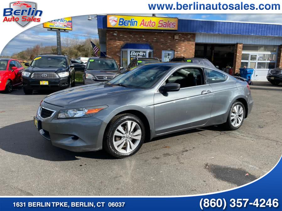 Used Honda Accord Cpe 2dr I4 Auto EX-L 2010 | Berlin Auto Sales LLC. Berlin, Connecticut