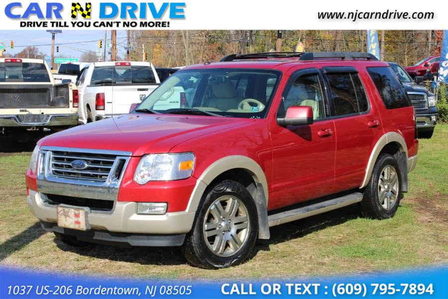 Used Ford Explorer Eddie Bauer 4WD 2010 | Car N Drive. Bordentown, New Jersey