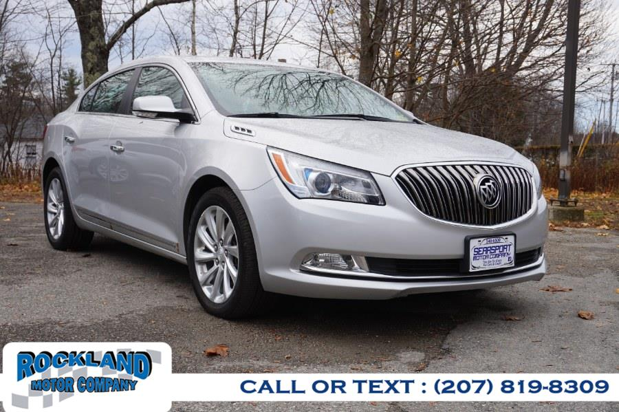 Used Buick LaCrosse 4dr Sdn Leather FWD 2016   Rockland Motor Company. Rockland, Maine
