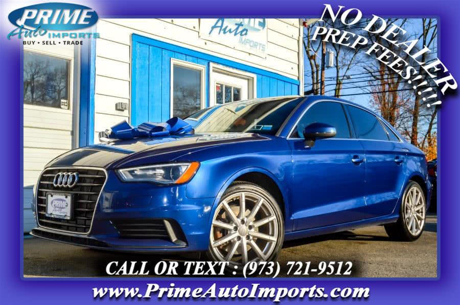 Used 2015 Audi A3 in Bloomingdale, New Jersey | Prime Auto Imports. Bloomingdale, New Jersey