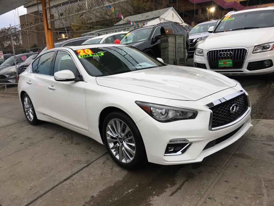 Used 2020 INFINITI Q50 in Jamaica, New York | Sylhet Motors Inc.. Jamaica, New York