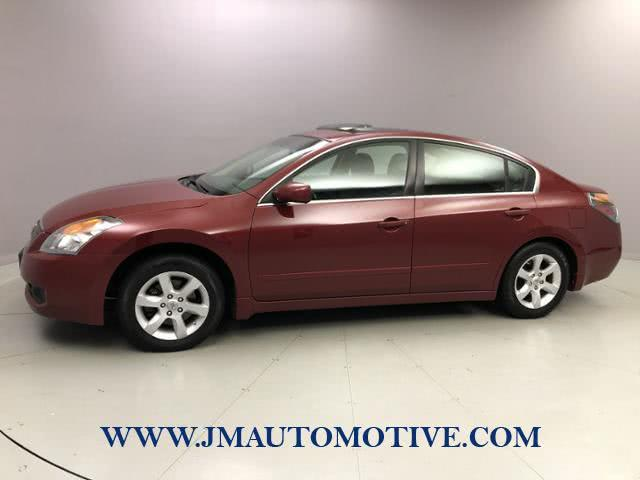 Used Nissan Altima 4dr Sdn I4 CVT 2.5 S ULEV 2008 | J&M Automotive Sls&Svc LLC. Naugatuck, Connecticut