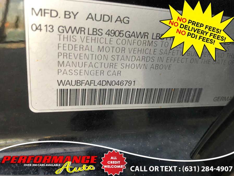 Used Audi A4 4dr Sdn Auto quattro 2.0T Premium 2013   Performance Auto Inc. Bohemia, New York