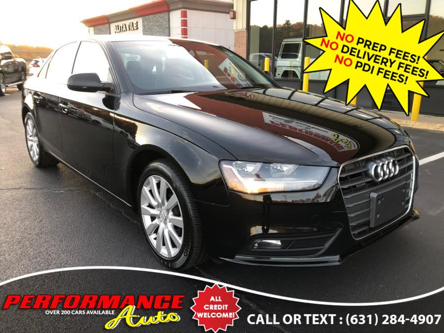 Used 2013 Audi A4 in Bohemia, New York | Performance Auto Inc. Bohemia, New York
