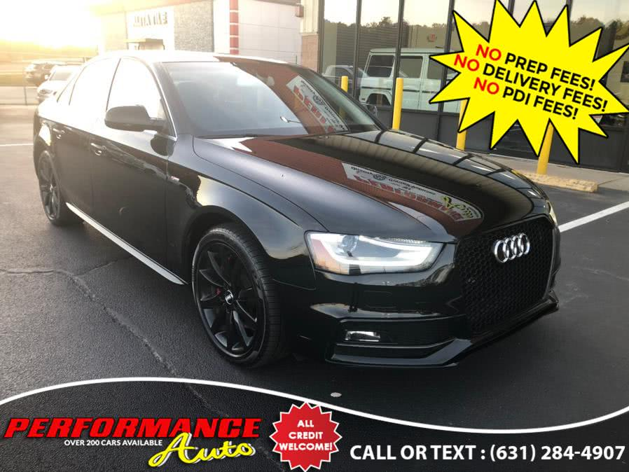 Used 2014 Audi A4 in Bohemia, New York | Performance Auto Inc. Bohemia, New York