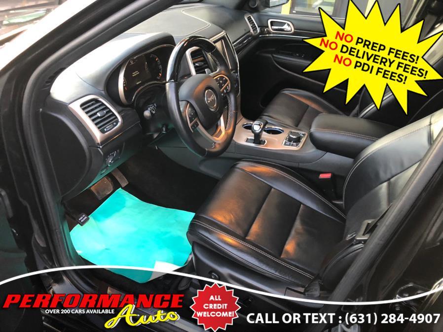 Used Jeep Grand Cherokee 4WD 4dr Overland 2015 | Performance Auto Inc. Bohemia, New York