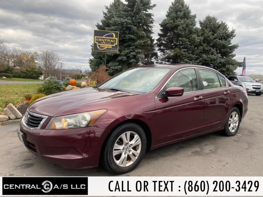 Used 2008 Honda Accord Sdn in East Windsor, Connecticut | Central A/S LLC. East Windsor, Connecticut