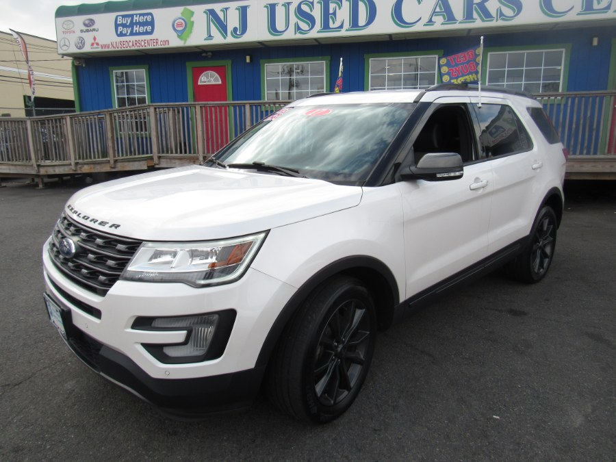 Used Ford Explorer XLT 4WD 2017 | NJ Used Cars Center. Irvington, New Jersey