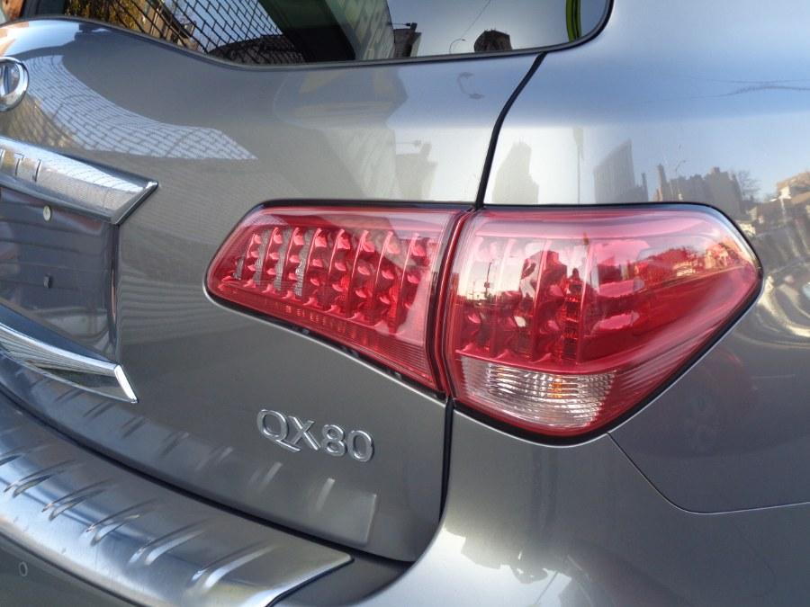 Used INFINITI QX80 4WD W/Rear Entertainment Technology 2015 | Top Speed Motors LLC. Jamaica, New York