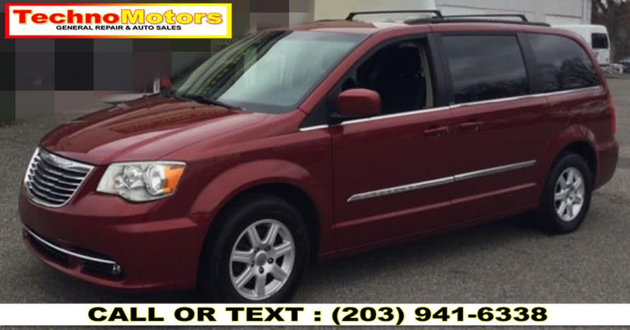Used Chrysler Town & Country 4dr Wgn Touring 2012 | Techno Motors . Danbury , Connecticut