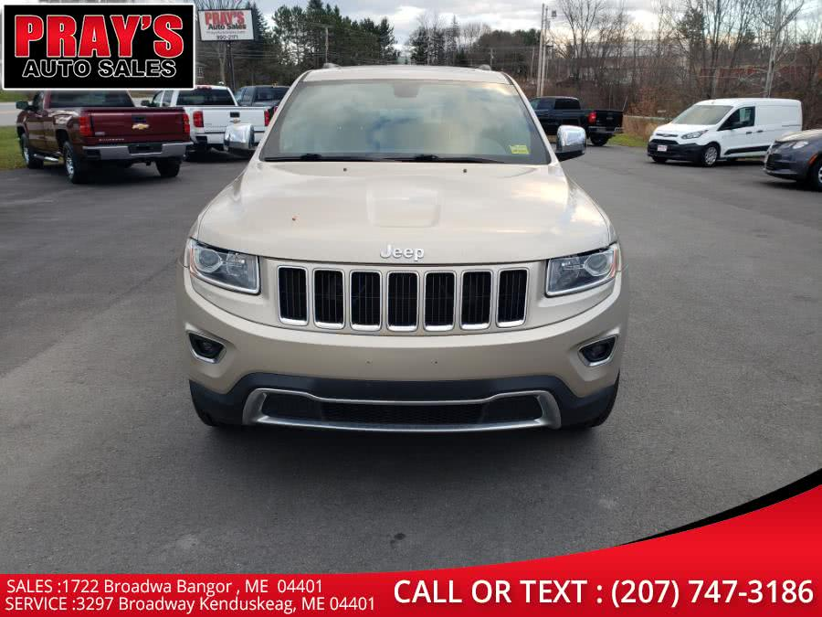 Used Jeep Grand Cherokee 4WD 4dr Limited 2015   Pray's Auto Sales . Bangor , Maine
