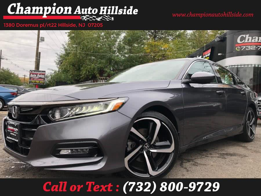 Used 2018 Honda Accord Sedan in Hillside, New Jersey | Champion Auto Hillside. Hillside, New Jersey