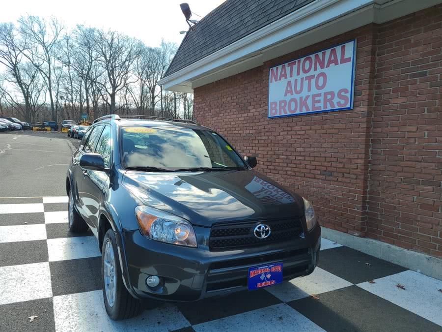 Used Toyota RAV4 4WD 4dr AT Sport 2008 | National Auto Brokers, Inc.. Waterbury, Connecticut