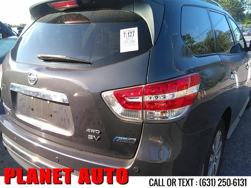 Used Nissan Pathfinder 4WD 4dr SV Hybrid 2014 | Planet Auto Group. Huntington Station, New York