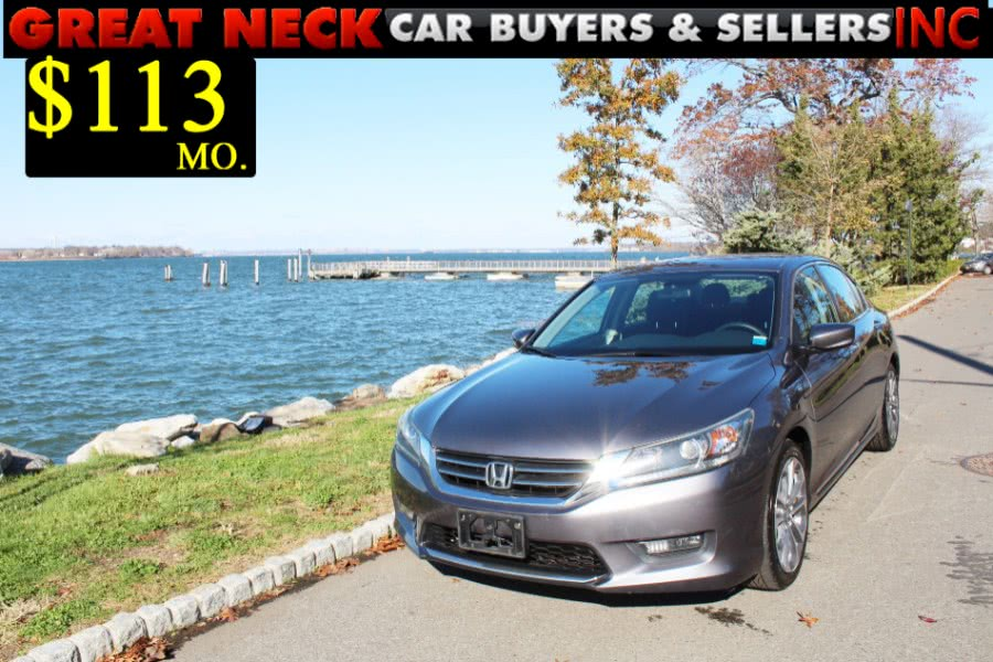 Used 2015 Honda Accord Sedan in Great Neck, New York