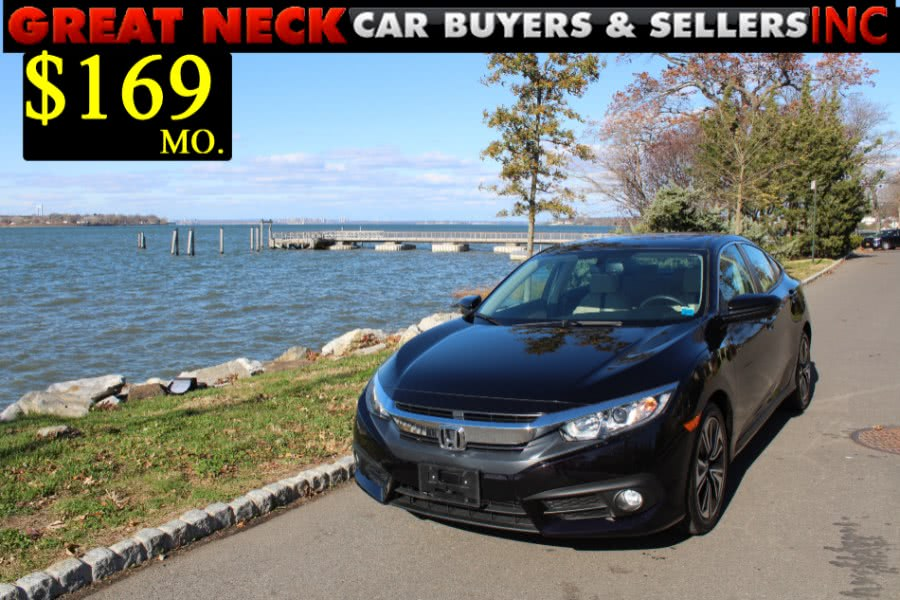 Used 2016 Honda Civic Sedan in Great Neck, New York
