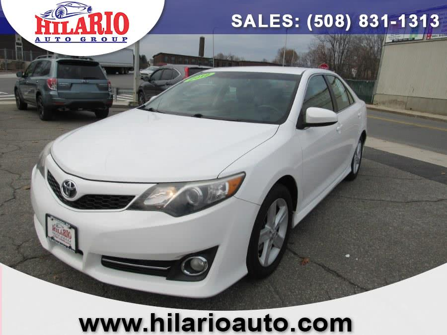 Used 2012 Toyota Camry in Worcester, Massachusetts   Hilario's Auto Sales Inc.. Worcester, Massachusetts