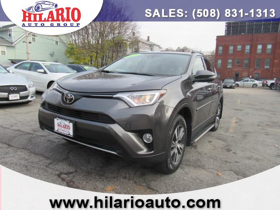Used 2017 Toyota RAV4 in Worcester, Massachusetts | Hilario's Auto Sales Inc.. Worcester, Massachusetts