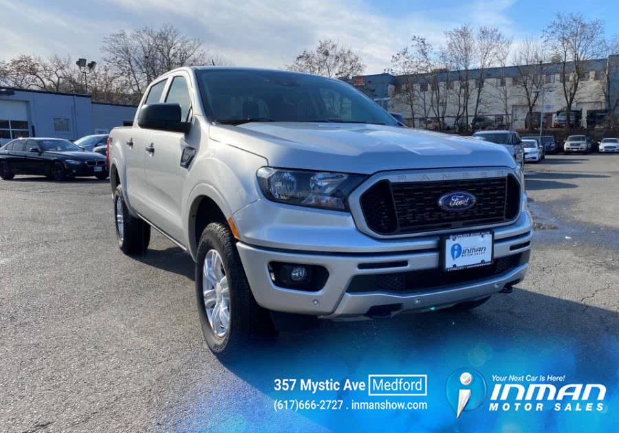 Used Ford Ranger XLT 4WD SuperCrew 5'' Box 2019 | Inman Motors Sales. Medford, Massachusetts