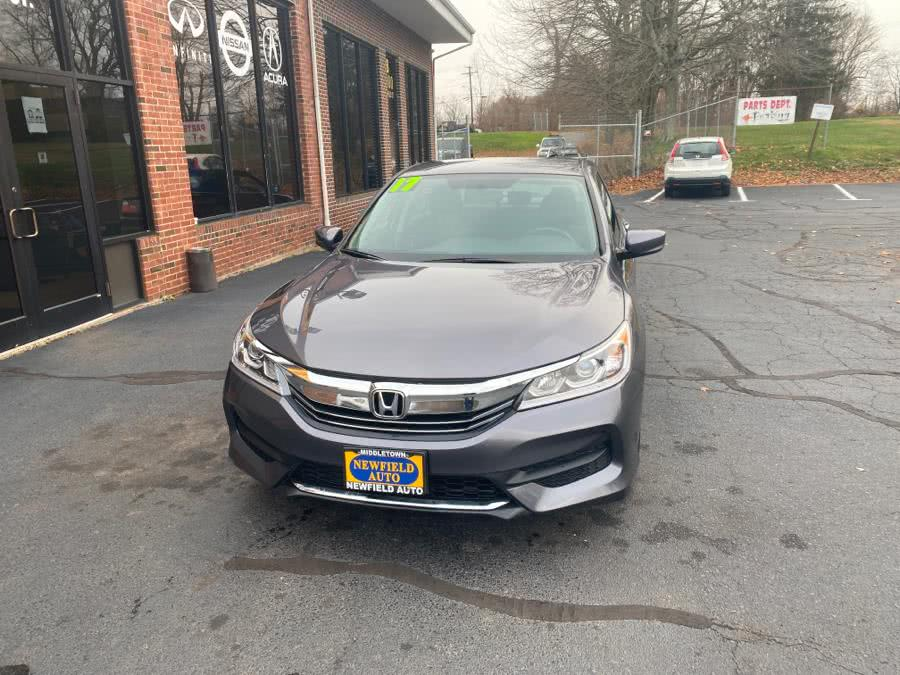Used Honda Accord Sedan LX CVT 2017 | Newfield Auto Sales. Middletown, Connecticut