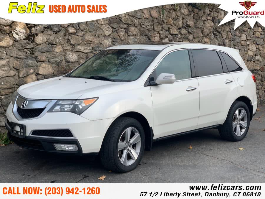 Used 2011 Acura MDX in Danbury, Connecticut | Feliz Used Auto Sales. Danbury, Connecticut