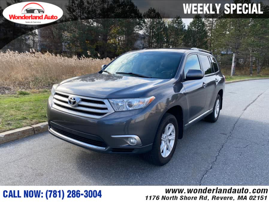 Used 2012 Toyota Highlander in Revere, Massachusetts | Wonderland Auto. Revere, Massachusetts