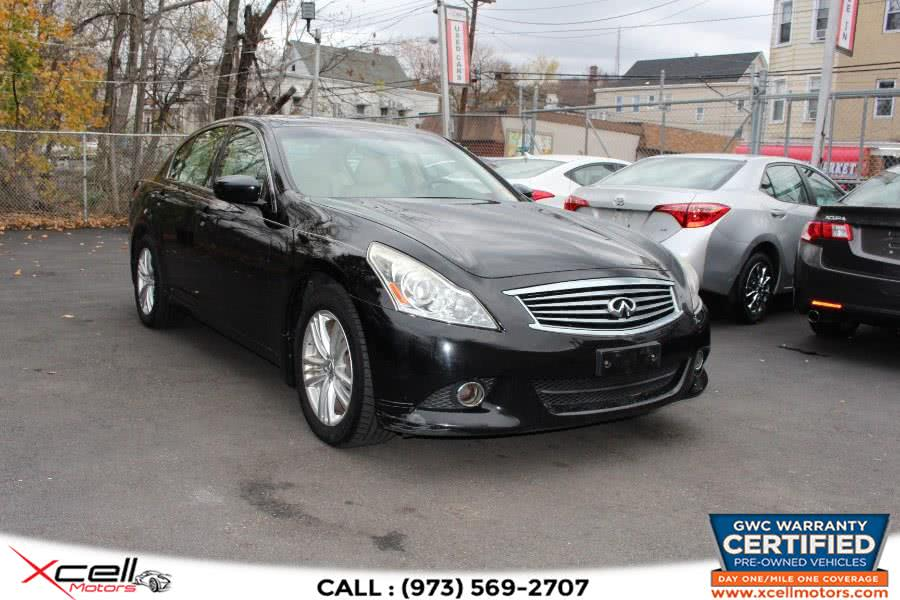 Used 2011 Infiniti G37x Sedan in Paterson, New Jersey | Xcell Motors LLC. Paterson, New Jersey