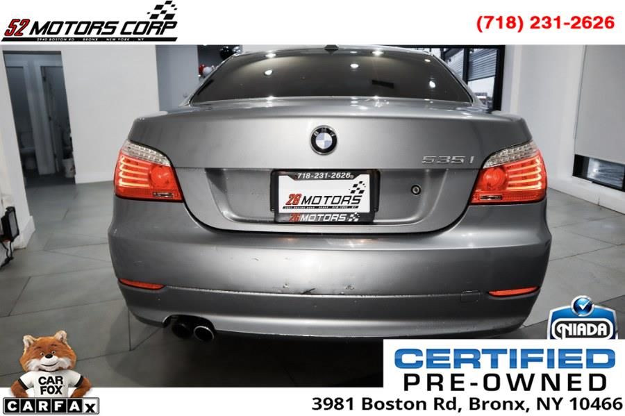 Used BMW 5 Series 4dr Sdn 535i xDrive AWD 2009 | 52Motors Corp. Woodside, New York