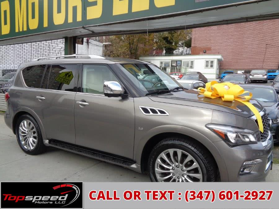 Used 2015 INFINITI QX80 4WD in Jamaica, New York | Top Speed Motors LLC. Jamaica, New York