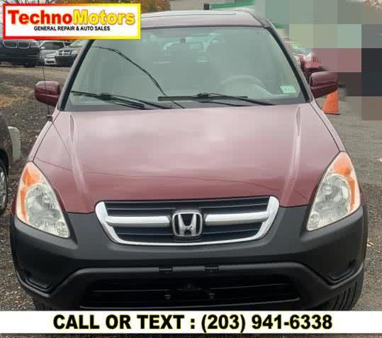 Used 2002 Honda CR-V in Danbury , Connecticut | Techno Motors . Danbury , Connecticut