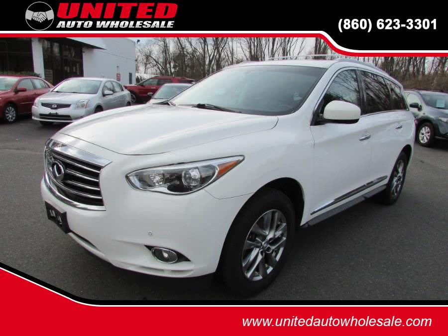 Used 2013 Infiniti JX35 in East Windsor, Connecticut | United Auto Sales of E Windsor, Inc. East Windsor, Connecticut