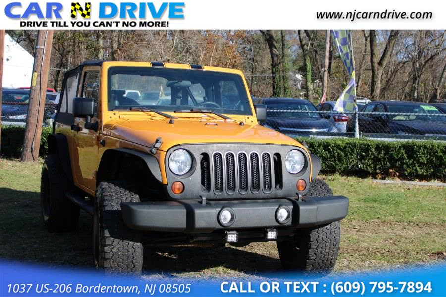 Used Jeep Wrangler Sport 4WD 2012 | Car N Drive. Bordentown, New Jersey