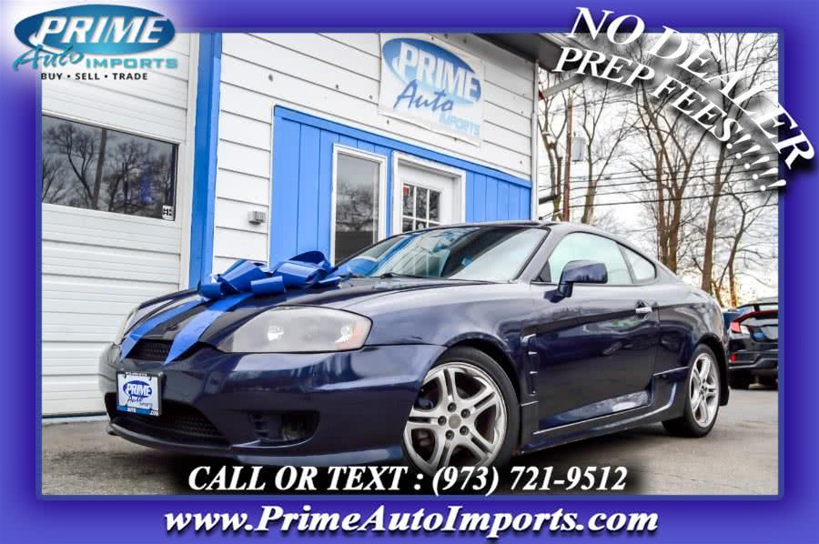 Used 2006 Hyundai Tiburon in Bloomingdale, New Jersey | Prime Auto Imports. Bloomingdale, New Jersey