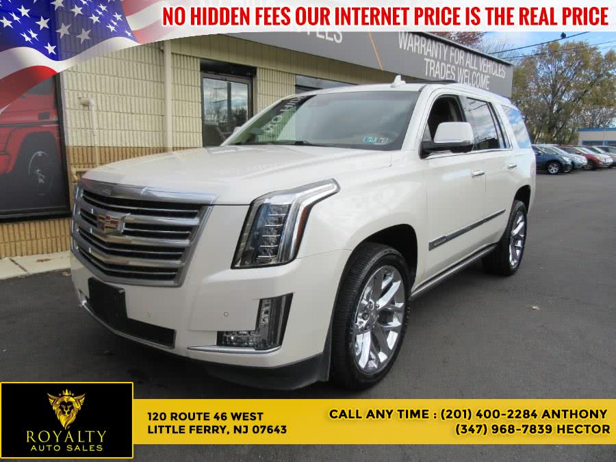 Used Cadillac Escalade 4WD 4dr Platinum 2015 | Royalty Auto Sales. Little Ferry, New Jersey