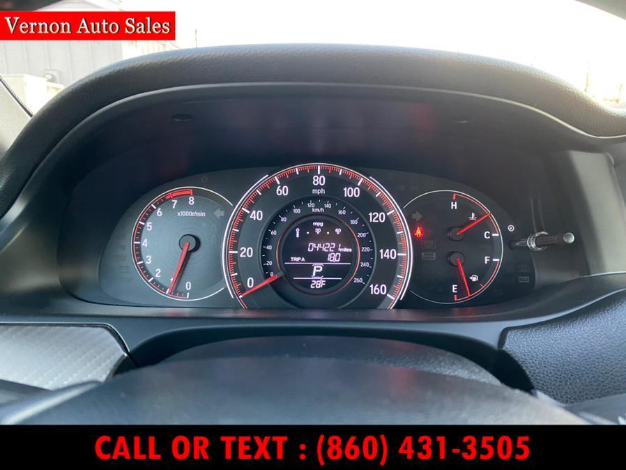 Used Honda Accord Sedan Sport SE CVT 2017 | Vernon Auto Sale & Service. Manchester, Connecticut