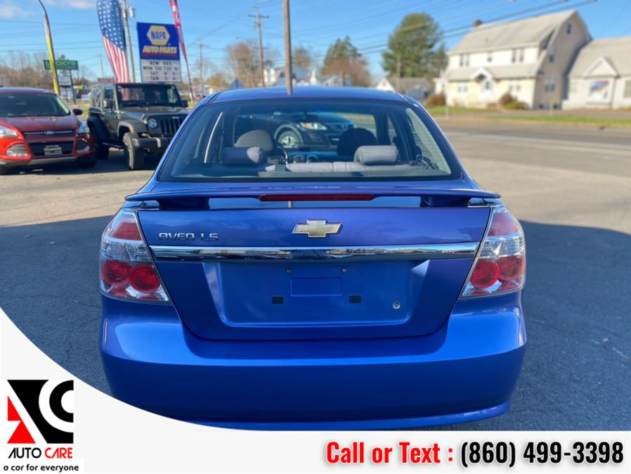 Used Chevrolet Aveo 4dr Sdn LS 2008 | Auto Care Motors. Vernon , Connecticut