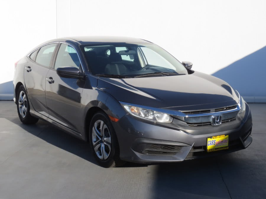 Used Honda Civic Sedan 4dr CVT LX 2016 | Auto Max Of Santa Ana. Santa Ana, California