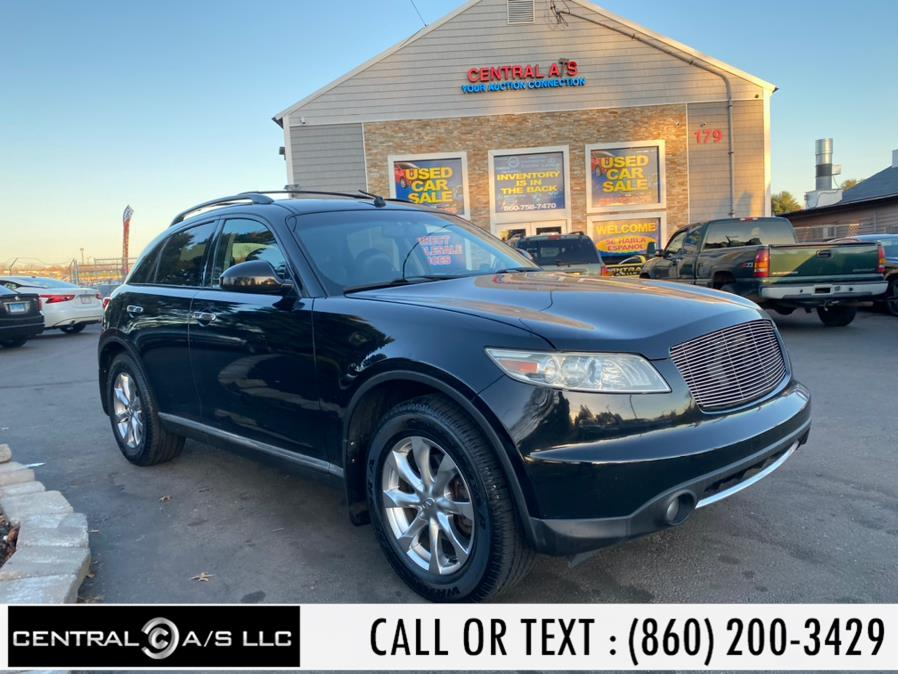 Used Infiniti FX35 AWD 4dr 2008 | Central A/S LLC. East Windsor, Connecticut