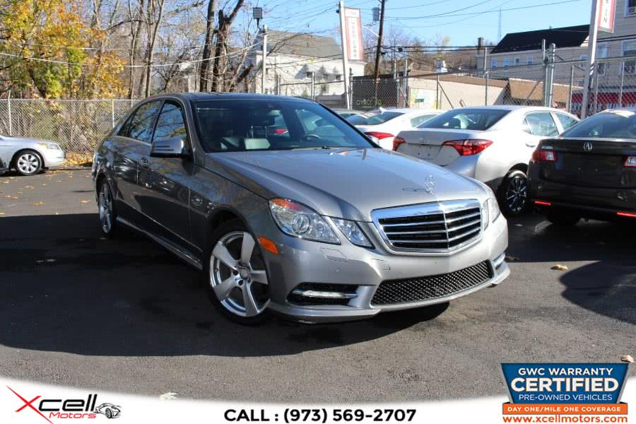 Used 2012 Mercedes-Benz E350 Sport 4MATIC in Paterson, New Jersey | Xcell Motors LLC. Paterson, New Jersey