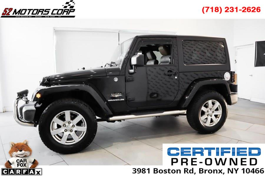 Used Jeep Wrangler 4WD 2dr Sahara 2012 | 52Motors Corp. Woodside, New York