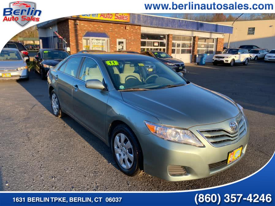 Used Toyota Camry 4dr Sdn I4 Auto LE (Natl) 2011 | Berlin Auto Sales LLC. Berlin, Connecticut